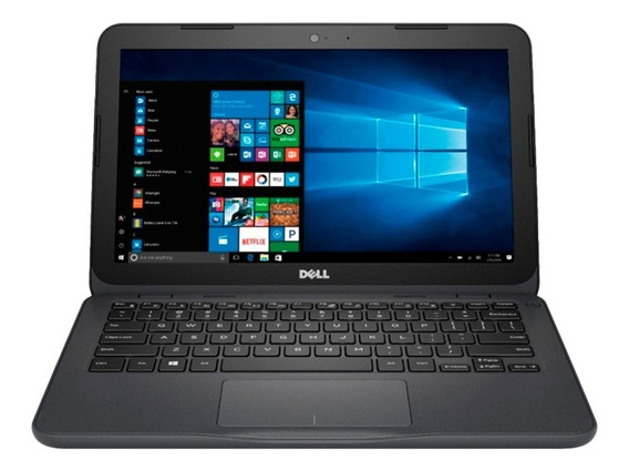 Notebook Dell I3180-a3361gry-pus Amd 4gb 32gb Ssd 11.6 Win10