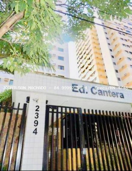 Apartamento Para Venda Em Natal, Lagoa Nova - Ed. Cantera, 2 Dormitórios, 1 Suíte, 2 Banheiros, 1 Vaga - Ap1146-cantera