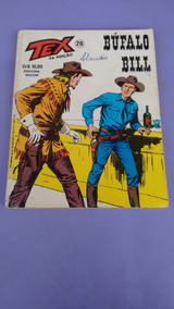 Tex Nº. 28 - Bufalo Bill - Vecchi - 2ª. Edição - Arremate!!!