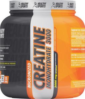 Suplemento Healthy Sports Creatine Monohydrate 3000 Microniz