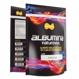 Kit 4x Albumina Refil 500g = 2000g 2kg - Naturovos