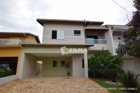 Casa Residencial À Venda, Condomínio Campos Do Conde, Paulínia - Ca1339. - Ca1339