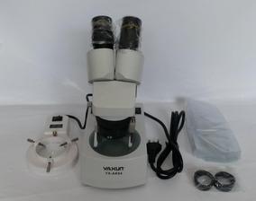 Microscópio Estereoscópico Binocular Yaxun Yx-ak04 220v