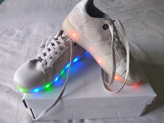 Zapatillas Con Luces Led Footy 47 Street Nº 32