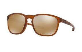 Oculos Sol Oakley Enduro Oo9223 4155 Lt Marrom Polarizada