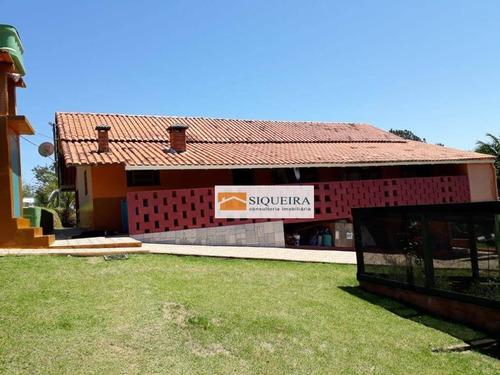 Chácara Com 3 Dormitórios À Venda, 36300 M² Por R$ 550.000,00 - Barreiro - Piedade/sp - Ch0029