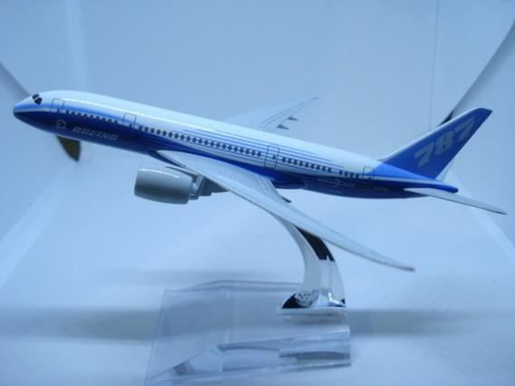 Boeing 787 Avião Miniatura