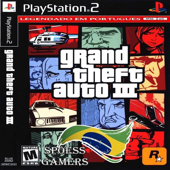Gta 3 Ps2 Grand Theft Auto Patch Portugues