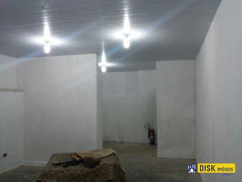 Galpão Para Alugar, 65 M² Por R$ 3.500,00/mês - Centro - São Bernardo Do Campo/sp - Ga0030
