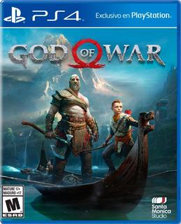 : God Of War 4 Playstation 4/ Ps4 Nuevo: Sellado