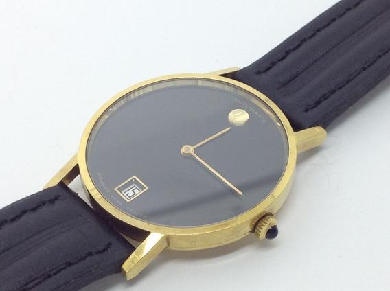 Relógio Masculino Ouro 18k Movado Zenith Automático - Suíço