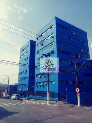 Imagem 1 de 10 de Sala Para Alugar, 60 M² Por R$ 2.300,00/mês - Vila Bocaina - Mauá/sp - Sa0004