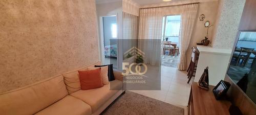 Imagem 1 de 27 de Apartamento Com 2 Dormitórios À Venda, 184 M² Por R$ 600.000,00 - Campinas - São José/sc - Ap1885