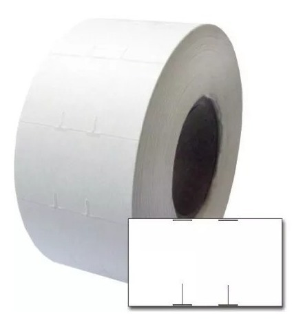Etiqueta M28 - 28x16 Dupla 1 Pacote Produto Mercado Preço