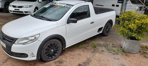 Vw Saveiro Pick Up , D/h A/a 4000 U$s Y Cuotas