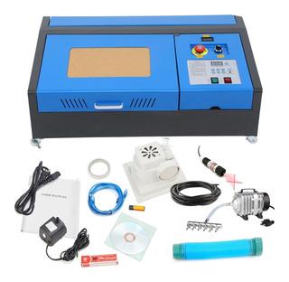 Grabadora Cortadora Laser 40w Sistema Antiflama Y Apuntador