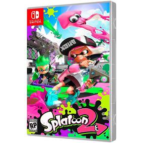 Jogo Splatoon 2 Nintendo Switch Mídia Físca Lacrado