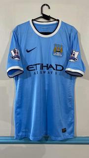 Camisa De Jogo Do Manchester City