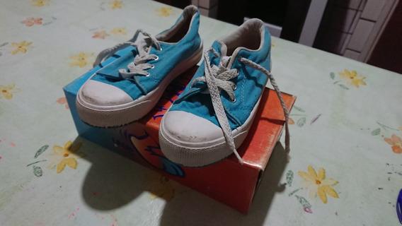 Zapatillas De Nena Lona