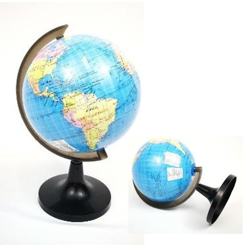 Globo Terráqueo Geografíco De 18cm Diámetro Decoración Educa
