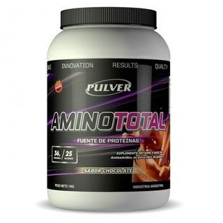 Amino Total Pulver Aminoacidos Masa Muscular Energia X1 Kg