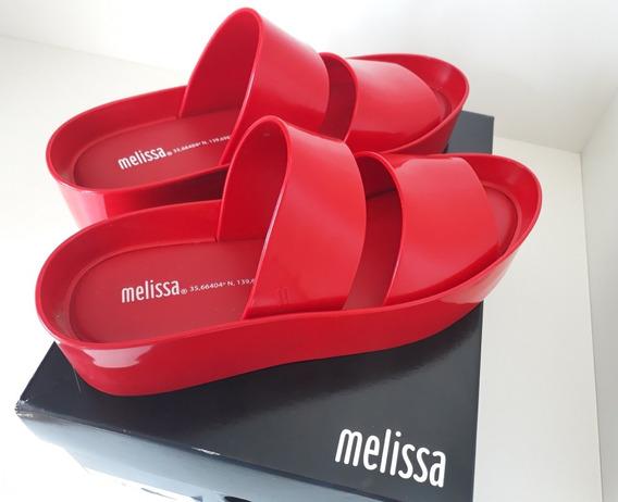 Promoção!! Frete Grátis!! Melissa Shibuya Vermelha 37 - Nova