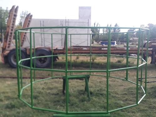 Porta Rollo De Pasto Reforzado De Varilla Petrolera Maciza