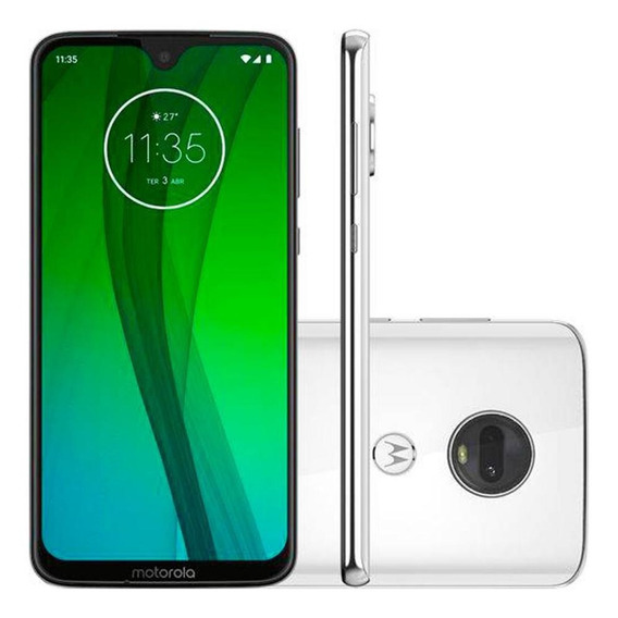 Smartphone Motorola Moto G7 64gb Dual Chip Octa-core Branco Polar
