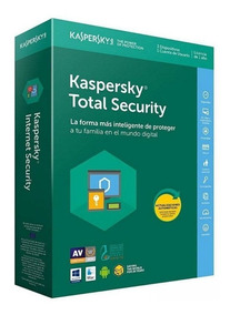 Kaspersky Total Security 3 Dispositivos 2 Anos