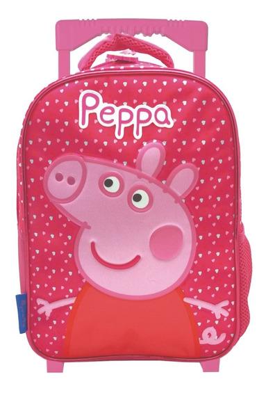 Mochila Con Carro Jardin 12 Pulgadas Peppa Pig Mundo Team