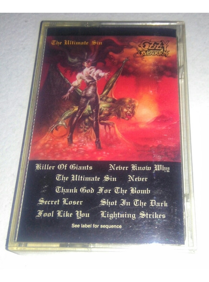 Ozzy Osbourne/the Ultimate Sin