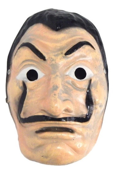 La Casa De Papel Mascara Salvador Dalí Serie Netflix
