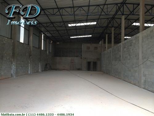 Galpões Industriais Para Alugar  Em Mairiporã/sp - Alugue O Seu Galpões Industriais Aqui! - 1235678