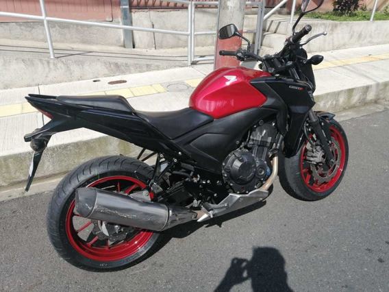 Barata Honda Moto Cb500fa Negociable