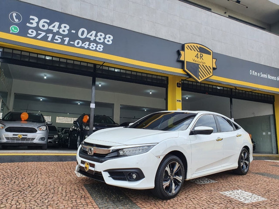 Honda Civic 1.5 16v 4p Touring Turbo Automático Cvt
