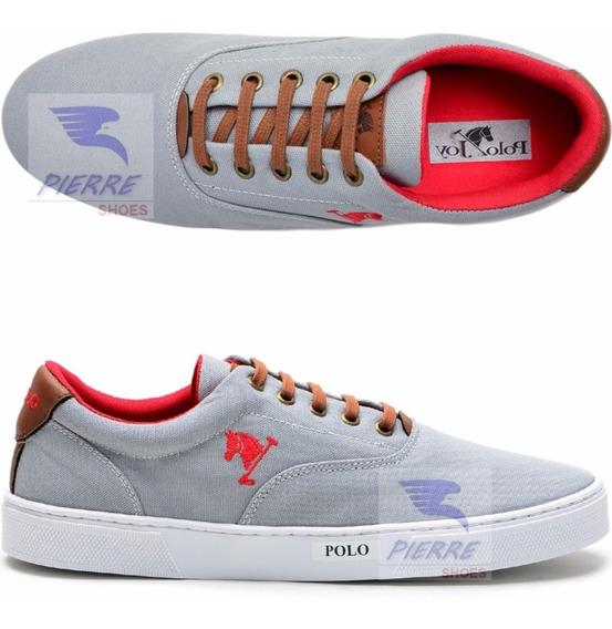 Sapatenis Sapato Tenis Polo Joy Casual Masculino Feminino