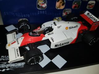 F1 - Alain Prost - Bicampeão 1986 Mclaren - 1:43 - 2º Título