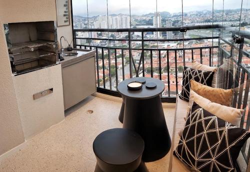 Imagem 1 de 8 de Apartamento Com 2 Dormitórios À Venda, 58 M² - Vila Gonçalves - São Bernardo Do Campo/sp - Ap65757