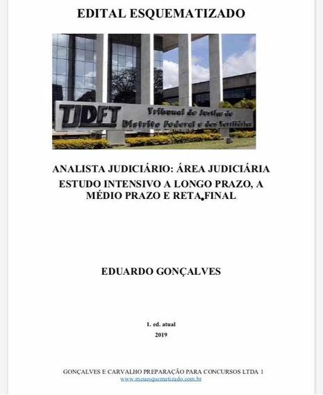 Edital Esquematizado Analista Tjdft