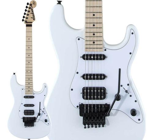 Imagem 1 de 10 de Guitarra Jackson Adrian Smith Sdx Mn - Snow White C/ Nfe