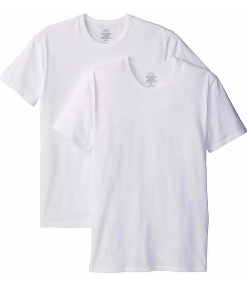 Calvin Klein 2 Camiseta Hombre Original Playera Strech