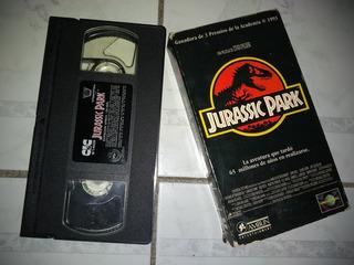 Vhs Video Vintage Jurassic Park Original Subtitulos Español