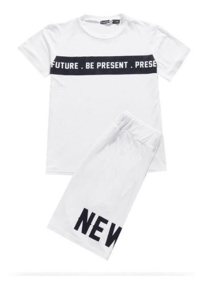 Camiseta Y Pantalón Corto Boohoo Kids - Boys New York