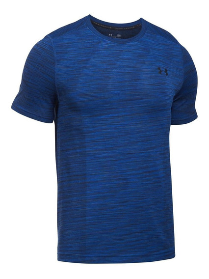 Playera Ua Threadborne Sin Costuras Para Hombre