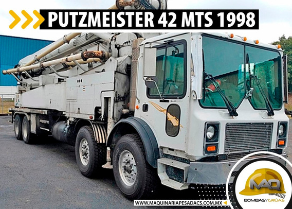 Mack - Putzmeister 42 Mts 1998 Bomba De Concreto