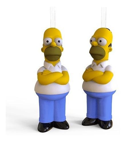 Imagen 1 de 4 de Vaso 3d Premium Los Simpsons - Homero