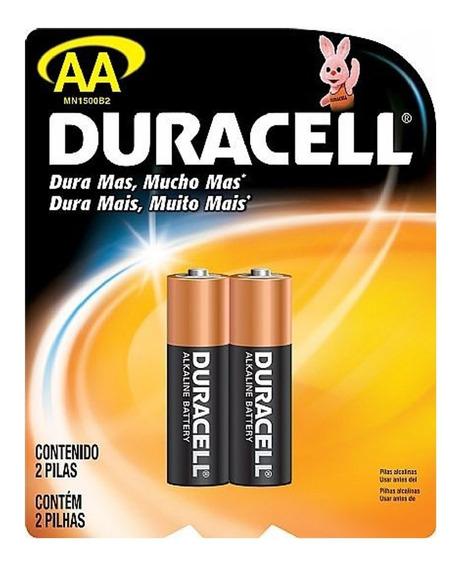 Pilha Aa Duracell Pequena Comum 2a Caixa 24 Pilhas Original