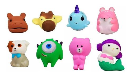 Muñecos Personajes Squishy Suaves Esponjosos Anti Estrés