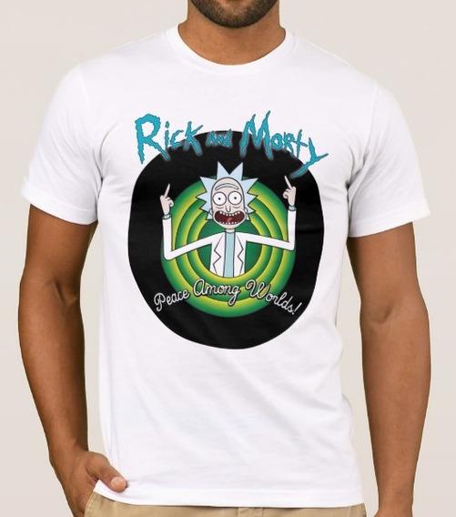 Playera Rick And Morty -rick- Envío Gratis