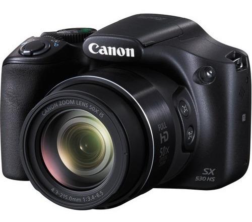 Maquina Fotografica P/amador Canon Powershot Sx530hs+ Bolsa